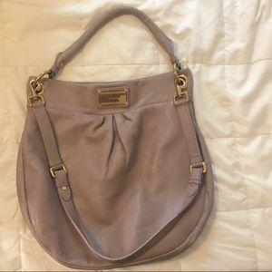Marc Jacobs leather crossbody Hobo bag purple